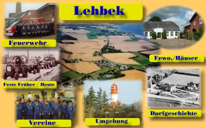 Lehbek, Startseite der Dorfhomepage Lehbek